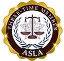 ASLA - three time member - Badge