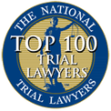 The National Trial Lawyers - Top 100 Trial Lawyer Badge